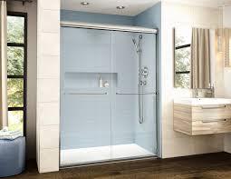 Ada Shower Door Adaptek Shower Base And The Banyo Cordoba Shower Door By Fleurco