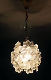 Creative Lighting Fixtures Ribbed Glassnt Light Fixture Img L Shades Palwa Flower Brass