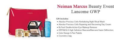 lancome gift with purchase gwp in november 2017