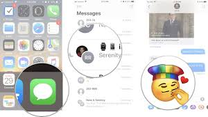 how to use sticker and apps in imessage on iphone and ipad imore