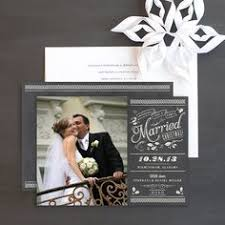 burlap lace newlywed card photo cards