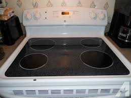 Replacement Glass Cooktop Kitchen Stove The Home Makeover Amana Self Cleaning Electric Range