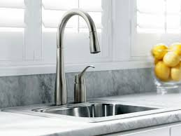 kohler black kitchen faucets astonishing kitchen sinks and faucets of kohler k 647 bl simplice