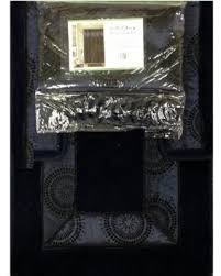 Bathroom Rug Sets On Sale Amazing Deal On 4 Piece Luxury Navy Blue Bath Rug Set 3 Piece