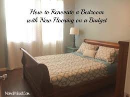 bedroom renovation how to renovate a bedroom with new flooring on a budget jpg