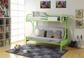 Metal Bunk Beds Full Over Full Amazon Com Acme Furniture 02091w Gr Eclipse Futon Bunk Bed Twin