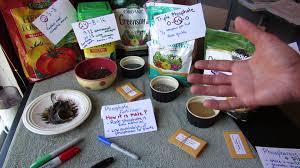 vegetable garden fertilizers nitrogen n phosphorous p
