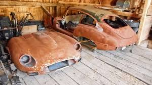 left in pieces 1968 jaguar e type