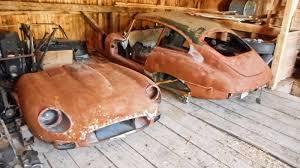 left in pieces 1968 jaguar e type