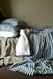 ticking stripe duvet cover black ticking stripe quilt cover zoom