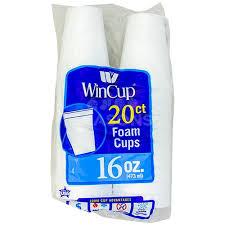 foam cups win foam cups 16 oz 20 ct seasonskosher online kosher