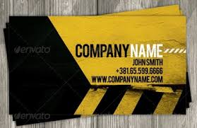 construction business card templates 24 construction business