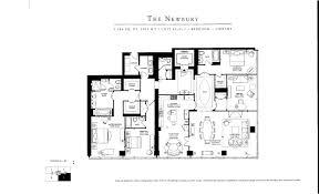 ritz carlton condo toronto real estate floor plan newbury 3 bedroom