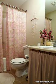 warm u0026 feminine apartment bathroom makeover u2013 the decor guru