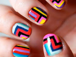Awesome Cute Easy Nail Designs To Do At Home Photos Interior - Designing nails at home