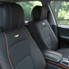 5 seat car suv pu leather seat cushion covers full set 5 colors