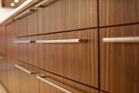 contemporary kitchen cabinet hardware bathroom reno update mid century modern inspired cabinet soft close