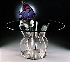 acrylic dining table base tremendeous lucite round dining table on acrylic furniture tables
