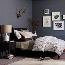 West Elm Bedroom Furniture Sale Mid Century Bed Black West Elm