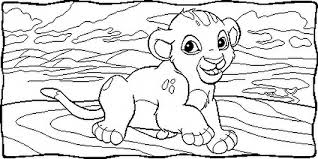 lion king coloring 01 coloring pages coloring book