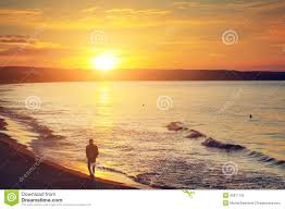 sunset alone wallpapers man alone stock photos royalty free images