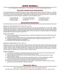 resume format for experienced person bookkeeping resume sample jennywashere com
