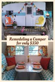 Camper Interior Decorating Ideas by Best 25 Old Campers Ideas Only On Pinterest Vintage Campers