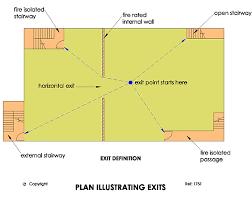 Bca Floor Plan Exit Doors Hendry