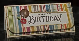 waterdots money holder birthday card