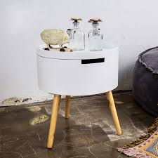 small sofa side table small round table storage house sofa side table simple round small
