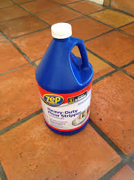 Zep Concrete Floor Cleaner by Dusty Coyote Stripping And Sealing A Saltillo Tile Floor