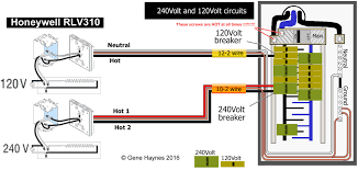 how to wire honeywell rlv310 thermostat