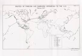 Us Airways Route Map