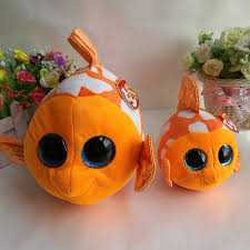 aliexpress buy 15cm u0026 25cm fish plush toy ty beanie boos