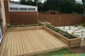 Small Backyard Deck Patio Ideas I Would Love To Do A Deck Like This But Instead Of Planters