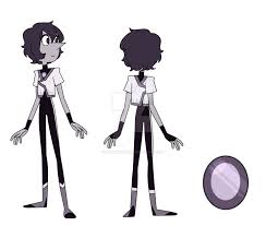 white opal gemsona black pearl gemsona by yukaonuki143 on deviantart