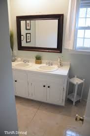 Bathroom Vanity Paint Ideas by Painted Bathroom Vanity Before And After Bathroom Updates You Can