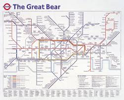 Map Of The Stars Mapping The Stars The Great Bear 1992 Simon Patterson