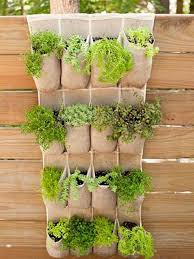 garden and lawn great vertical vegetable garden hanging pocket