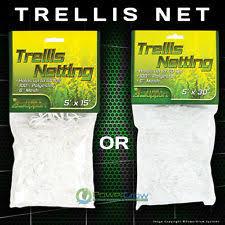 White Pvc Trellis Garden Netting Ebay