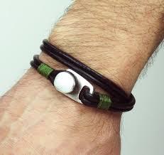 man black leather bracelet images 406 best bracelets cufflinks images cufflinks jpg