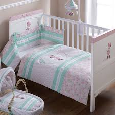 Cot Bedding Set Obaby Disney Minnie Mouse Cot Cot Bed Quilt Bumper Set Pink