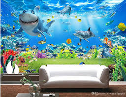 fashion decor home decoration for bedroom underwater world space fashion decor home decoration for bedroom underwater world space background mural 3d wallpaper 3d wall papers