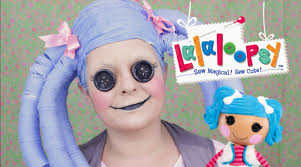Halloween Baby Doll Makeup Tutorial by Lalaloopsy Doll Makeup Tutorial Maquiagem Da Lalaloopsy