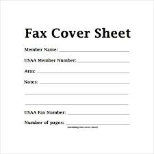 simple fax cover sheet tutornow info