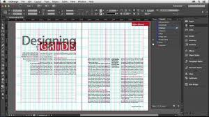 grid layout how to indesign tutorial the parts of a grid lynda com youtube