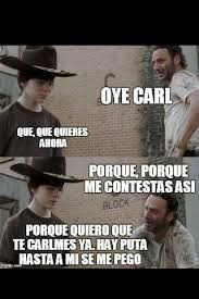 Carl Walking Dead Meme - amazing 20 walking dead rick and carl meme wallpaper site