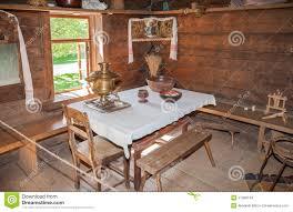 maison bois interieur intérieur de vieille maison en bois rurale image éditorial image