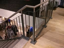 Stainless Steel Handrails For Stairs New Customer Staircase Rhs Stringers And Mild Steel Balustrade