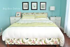 make your own upholstered bed in one weekend